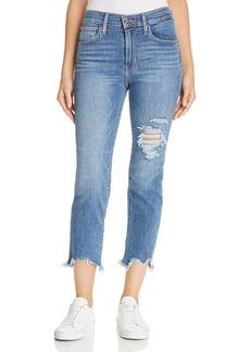 Levi's 724 Straight Crop Jeans in Indigo Pixel