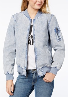 Levi's Acid-Wash Bomber Jacket