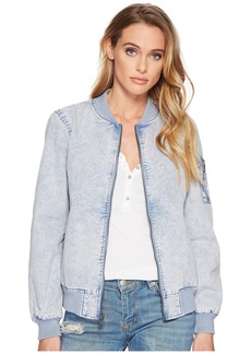 Levi's Acid Wash Cotton Flight Bomber