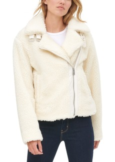 Levi's Women's All Over Sherpa Motorcycle Jacket