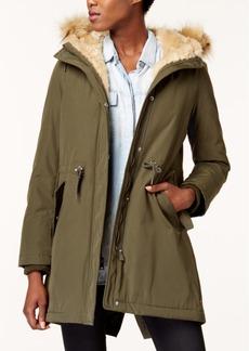 Levi's Arctic Cloth Faux-Fur-Trim Parka