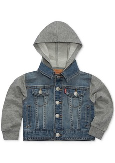 Levi's Baby Boys Hooded Trucker Jacket