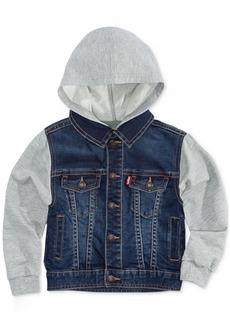 Levi's Baby Boys Hooded Trucker Jacket
