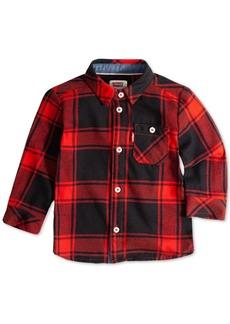 Levi's Baby Boys Plaid Button-Up Cotton Shirt