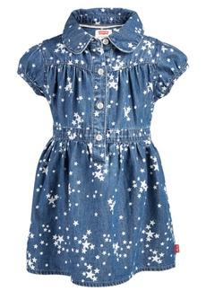 Levi's Baby Girls Nora Star-Print Cotton Denim Dress