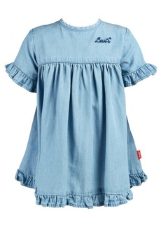 Levi's Baby Girls Ruffle-Trim Denim Dress