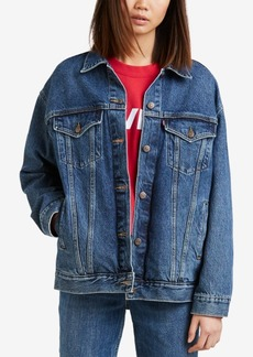 Levi's Baggy Trucker Cotton Denim Jacket