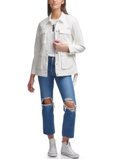 Levi's Belted Cotton Utility Jacket