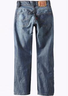 Levi's Boys 8-20 5 Slim Straight Jean BLURRED  Regular