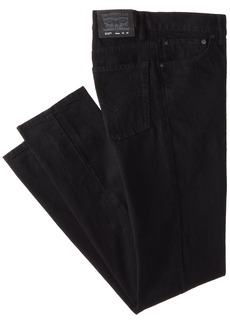 Levi's Boys 8-20 510 Super Skinny Fit Jean  BLACK STRETCH  Regular