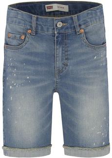 Levi's Big Boys' 511 Slim Fit Denim Shorts 18