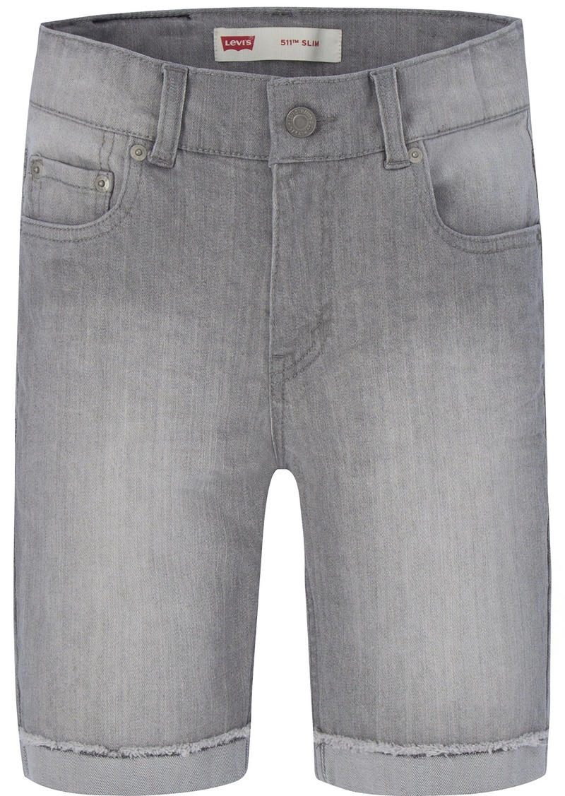 2f572572fa SALE! Levi's Levi's Big Boys' 511 Slim Fit Denim Shorts