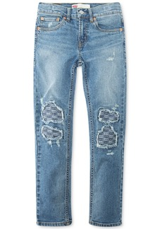 Levi's Big Boys Destructed Stretch Jeans