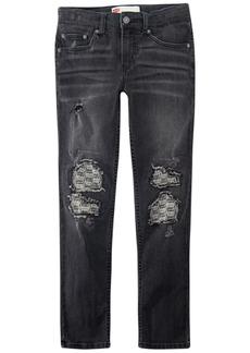 Levi's Big Boys Destructed Stretch Jeans