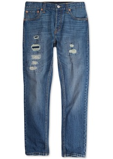 Levi's Big Boys 501 Skinny Distressed Jeans