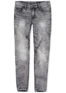 Levi's Big Girls 710 Super Skinny Bleach-Out Star Jeans