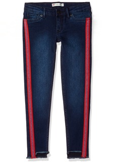 Levi's Big Girls' 710 Super Skinny Fit Ankle Cropped Jeans