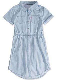 Levi's Big Girls Cotton Denim Shirtdress