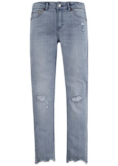Levi's Big Girls Embroidered Girlfriend Jeans