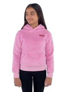Levi's Big Girls Sherpa Fleece Pullover Hoodie