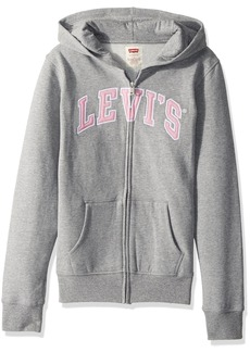 Levi's Big Girls' Zip up Hoodie  L