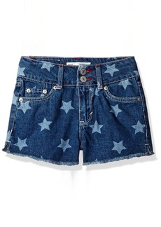 Levi's Big Girls' High Rise Denim Shorty Shorts