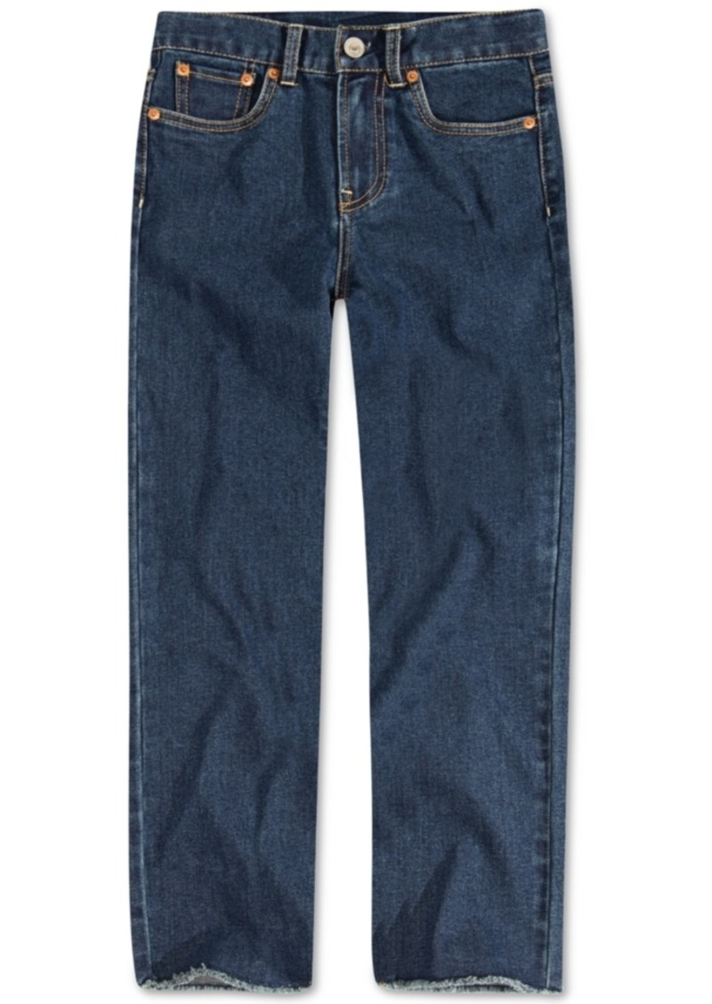 Levi's Big Girls High Rise Straight Jeans