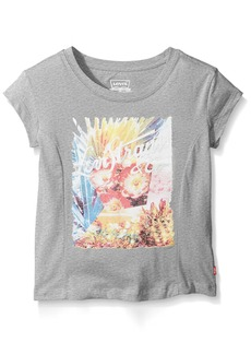 Levi's Big Girls' Boxy Graphic T-Shirt  L