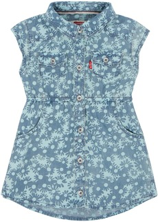 Levi's Big Girls' Short Sleeve Woven Dress
