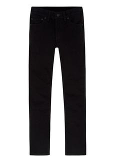Levi's Boys -20 510 Super Skinny Fit Jean BLACK STRETCH  Regular