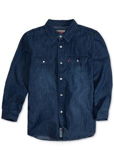Levi's Boys' Barstow Denim Shirt