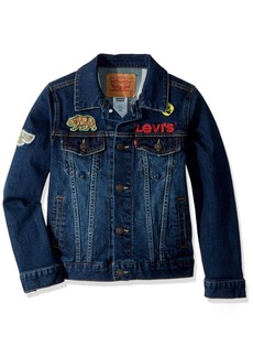 Levi's Boys' Big Denim Trucker Jacket  L