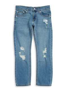 Levi's Boy's Slim Fit Distressed Jeans