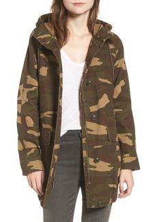 Levi's® Camo Canvas Hooded Jacket