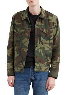 Levi's Camo-Print Denim Jacket