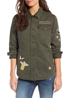 Levi's® Cargo Jacket with Patches