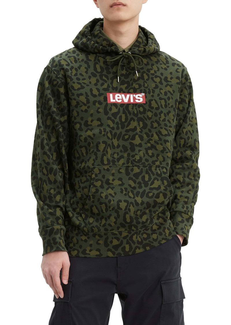 Levi's® Cheetah Print Logo Hoodie