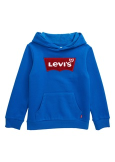 Levi's® Chenille Batwing Logo Hoodie (Toddler Boys & Little Boys)