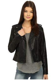 Levi's® Classic Asymmetrical Faux Leather Motorcycle Jacket