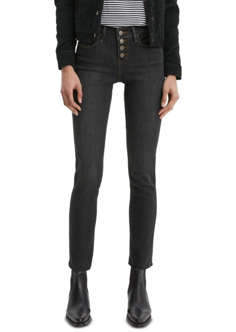 Levi's Women's Classic Button-Front Straight Jeans