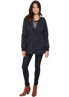 Levi's® Coated Cotton Four-Pocket Hooded Parka