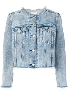 Levi's collarless denim jacket - Blue