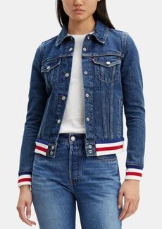 Levi's Women's Contrast Denim Trucker Jacket