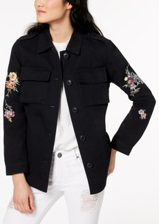 Levi's Cotton 2-Pocket Embroidered Jacket