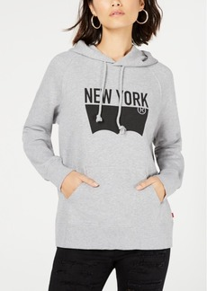 Levi's Cotton Batwing Graphic Hoodie