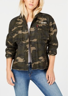 Levi's Cotton Camo-Print Jacket