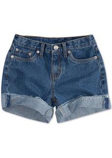 Levi's Big Girls' Girlfriend Shorty Shorts