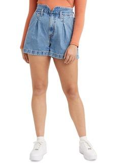 Levi's Cotton Denim Mom Shorts