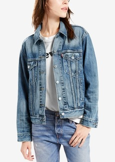 Levi's Cotton Ex-Boyfriend Denim Trucker Jacket