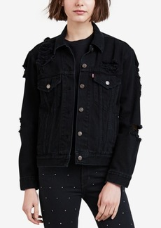 Levi's Cotton Ex-Boyfriend Trucker Jacket